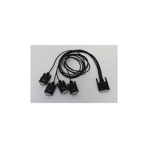 Digi AccelePort Xp and Neo 4 Port DB-9M Straight Fan-out Cable