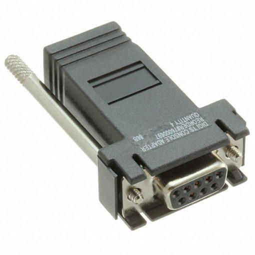 Digi  One, PortServer TS, II   4 pack  DB-9F   Console Adapter  (10 pin)