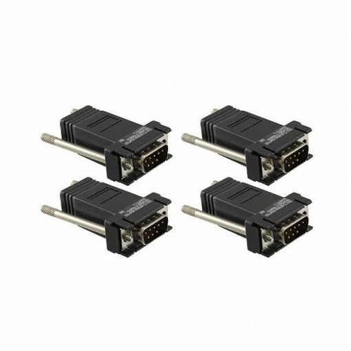Digi  One, PortServer TS, II  4 pack DB-9M  Modem Adapter  (10 pin)