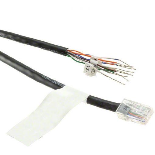 """Digi 48"""" RJ-45 Bare Wire Cable  (10 pin)"""