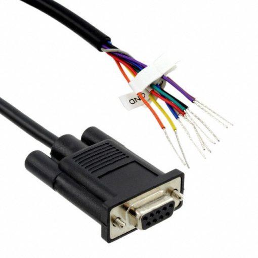 """Digi 48"""" DB-9 Bare Wire Cable  (10 pin)"""