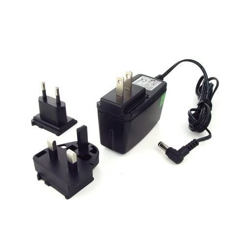 Digi 12VDC/90-264VAC Wall Mount Power Supply w/ plug adapters (for Digi Connect SP -C, Connect Wi-SP -C, Digi  Connect EM, Conn