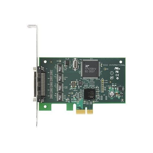 Digi Neo  PCI Express 4 port RS-232 Serial Card w/o Cables (includes low profile bracket)