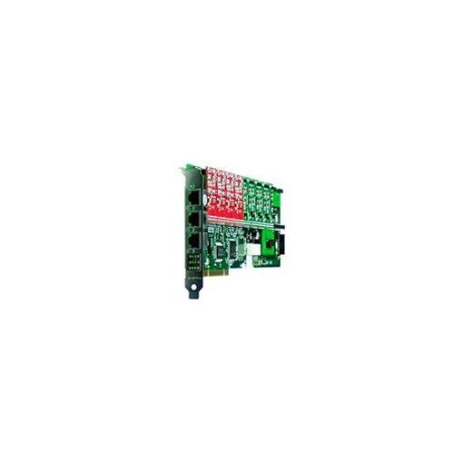 12 Port Analog PCI card + 8 FXO modules