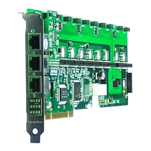 12 Port Analog PCI card + 1 FXS module