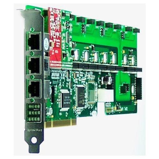 12 Port Analog PCI card + 1 FXS + 1 FXO modules