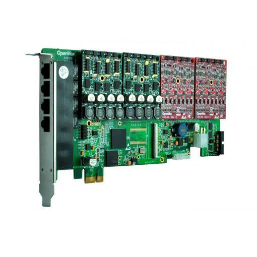 16 Port Analog PCI-E card base board