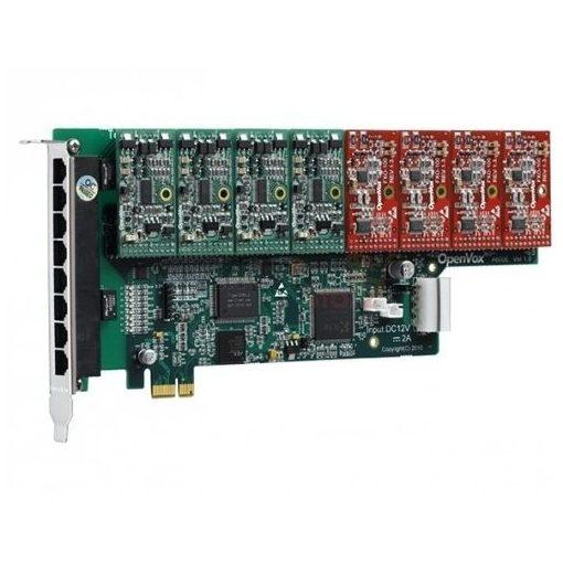24 Port Analog PCI-E card base board