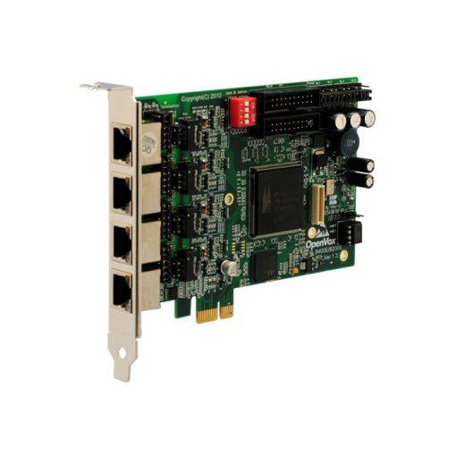 4 Port  ISDN BRI PCI-E card
