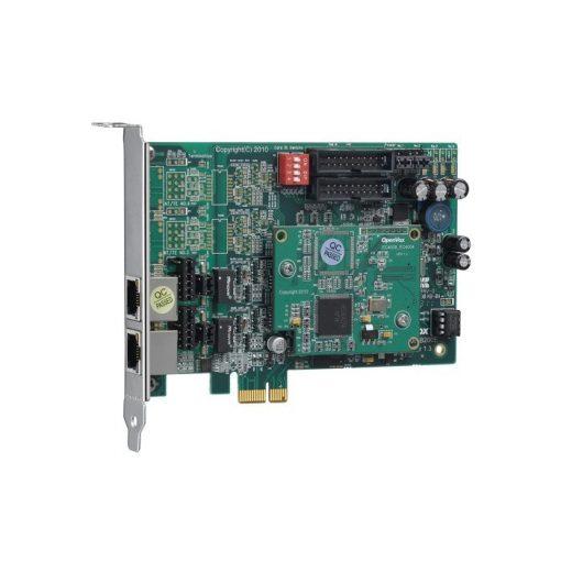 2 Port  ISDN BRI PCI-E card + EC4004 module
