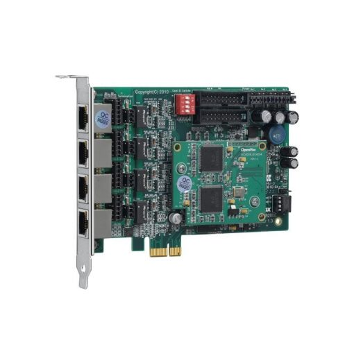 4 Port  ISDN BRI PCI-E card + EC4008 module
