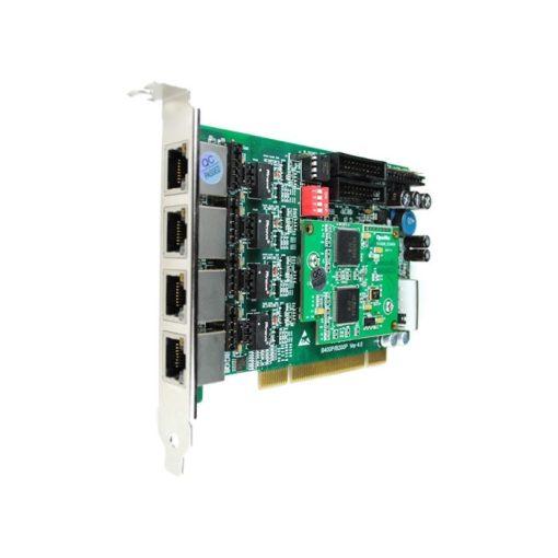4 Port  ISDN BRI PCI card + EC4008 module