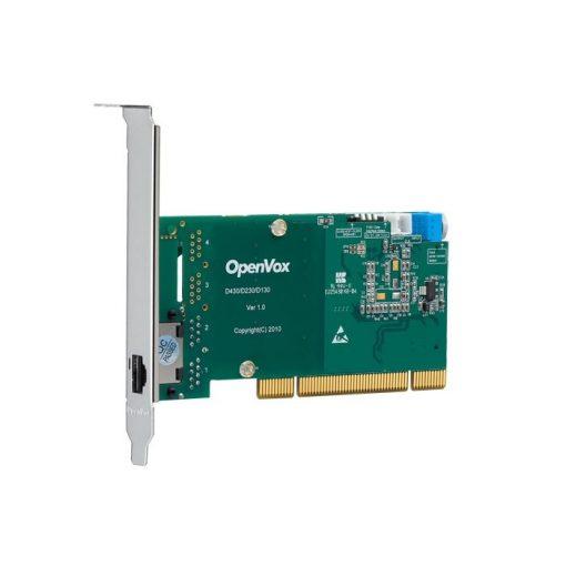1 Port T1/E1/J1 PRI PCI card (Advanced Version, Low Profile)