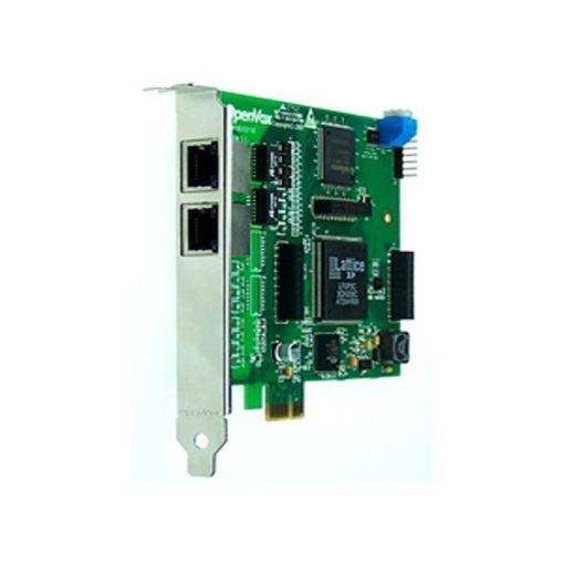 2 Port T1/E1/J1 PRI PCI-E card