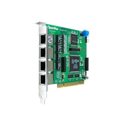 4 Port T1/E1/J1 PRI PCI card