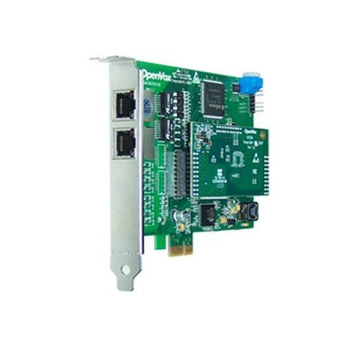 2 Port T1/E1/J1 PRI PCI-E card + EC100-64 module