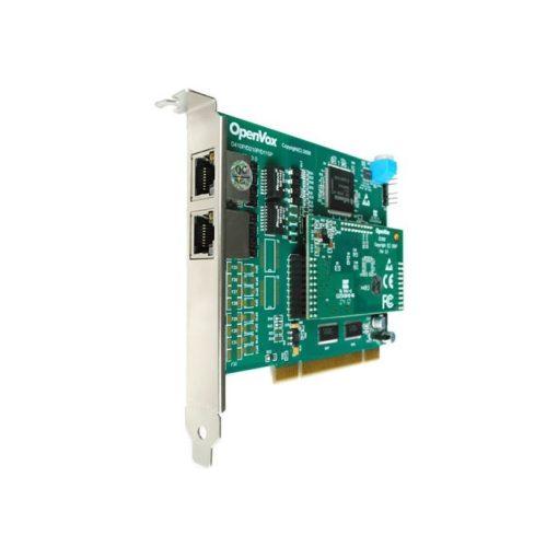 2 Port T1/E1/J1 PRI PCI card + EC100-64 module