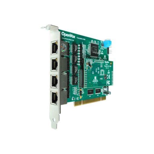 4 Port T1/E1/J1 PRI PCI card + EC100-128 module