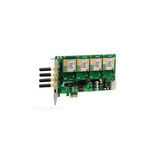 4 Port GSM/WCDMA PCI-E card + 4 GSM modules