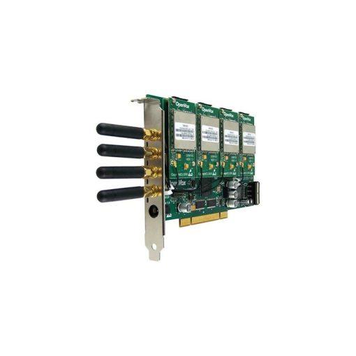 4 Port GSM/WCDMA PCI card + 4 GSM modules