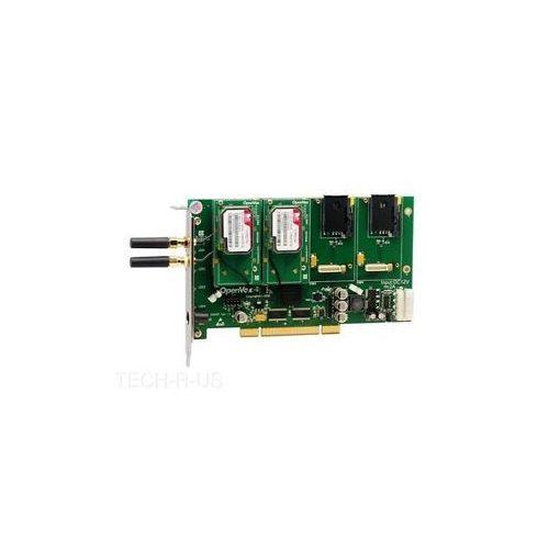 4 Port GSM/WCDMA PCI card + 2 WCDMA modules