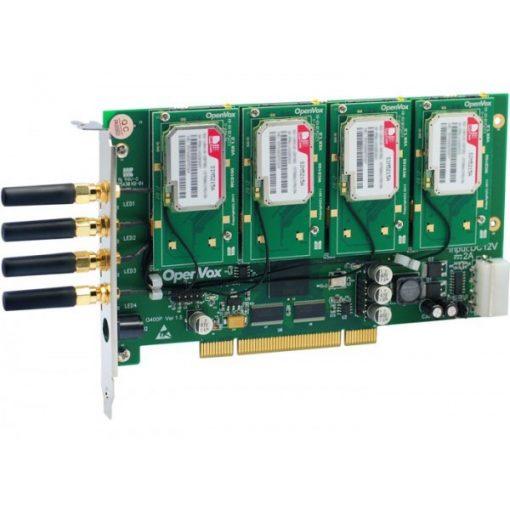 4 Port GSM/WCDMA PCI card + 4 WCDMA modules