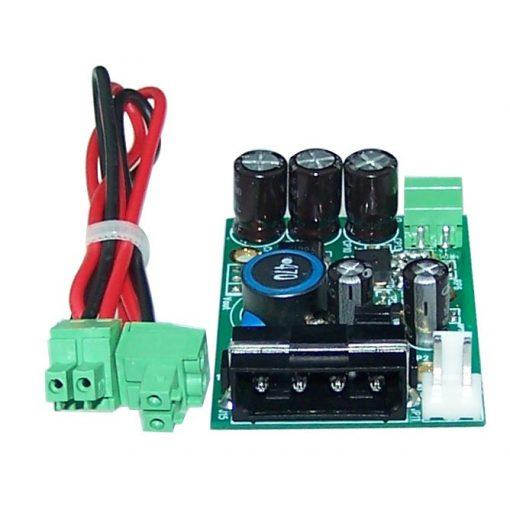 Power feeding converter for BRI Mini-PCI card