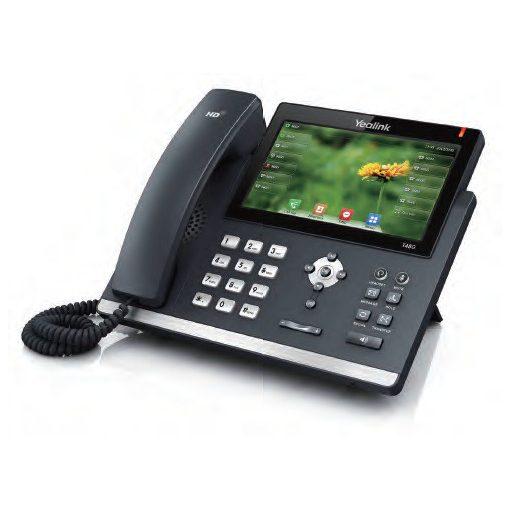 Yealink Forradalmian új SIP telefon 7 inches érintőképernyővel SIP-T48G